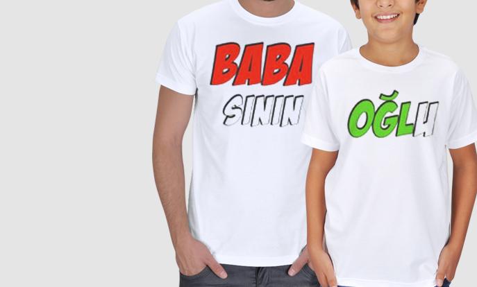 Baba Çocuk Tişörtleri